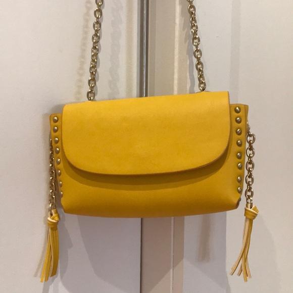 23b3669d01 Zara yellow purse